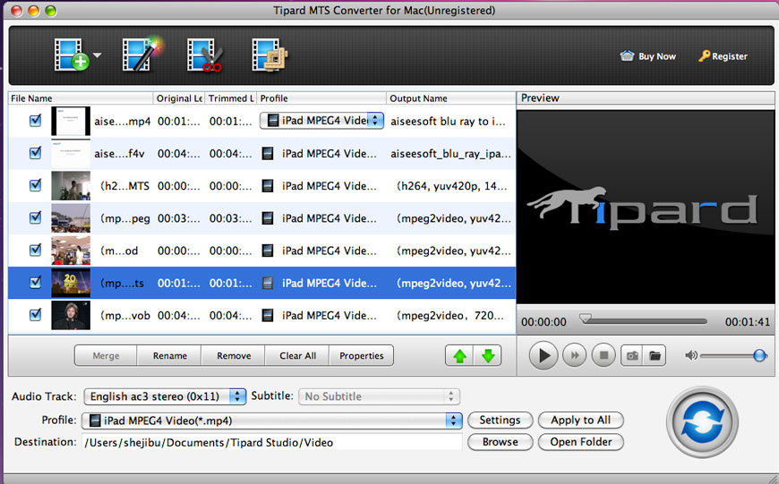 convert mts to mp4 mac